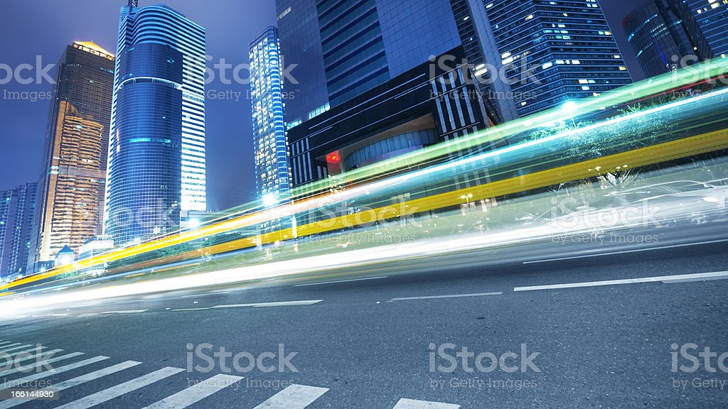 city and road royalty-free stock photo