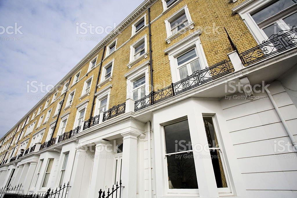 City apartments royalty-free stock photo