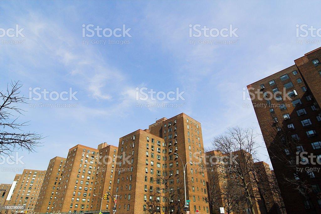 City Apartments stock photo