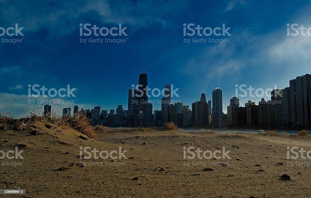 City Beach stock photo