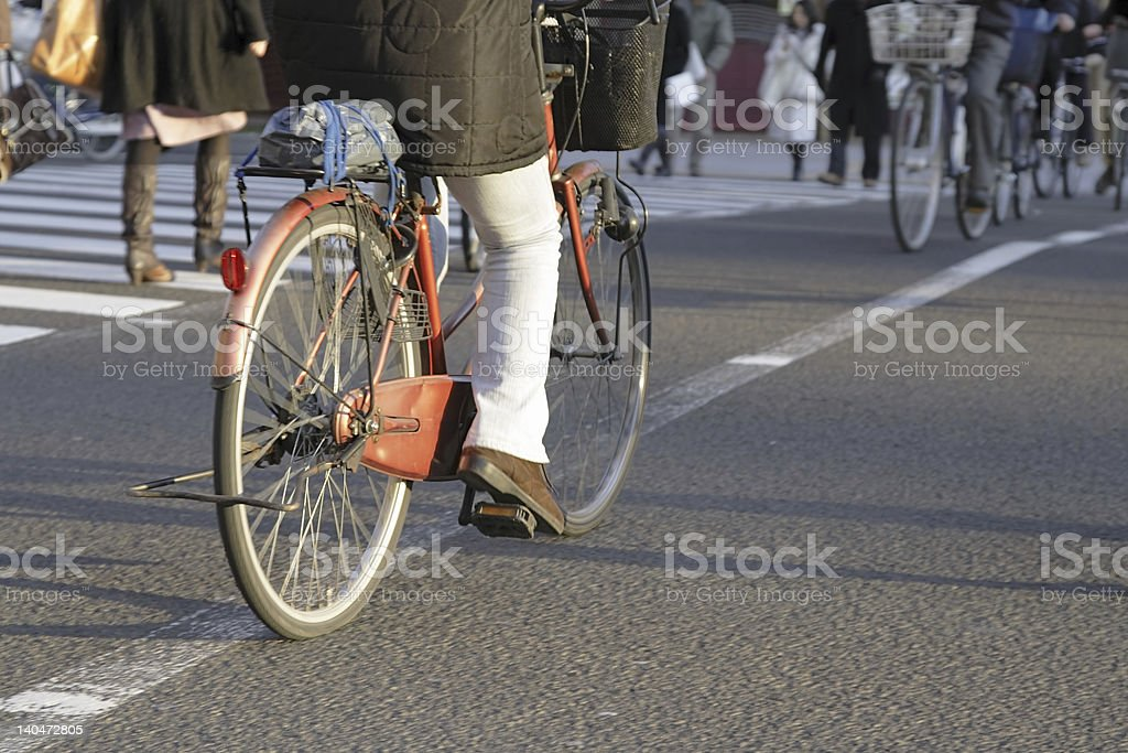 City bicycle royalty-free stock photo