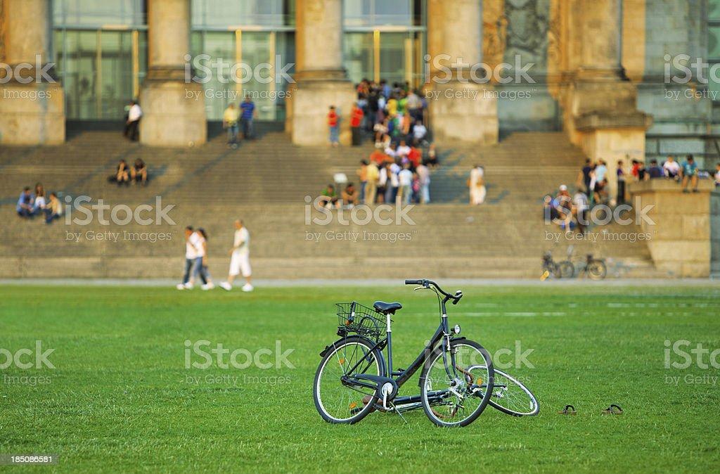 City Bike royalty-free stock photo