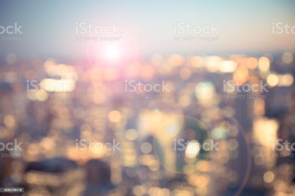 City Blur stock photo