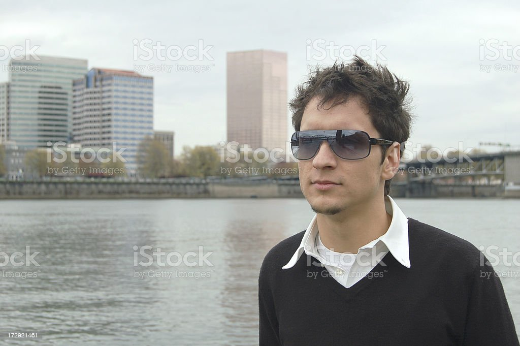 City Boy stock photo