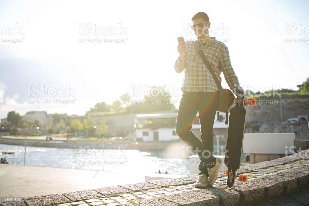 City Boy stock photo