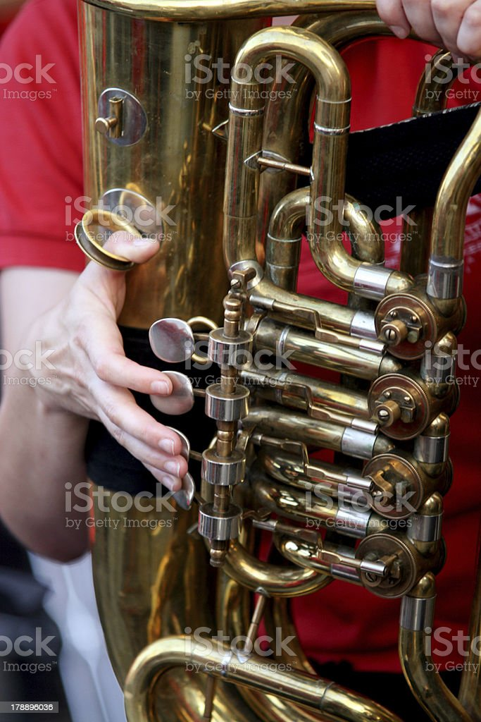 City Brass Band royalty-free stock photo