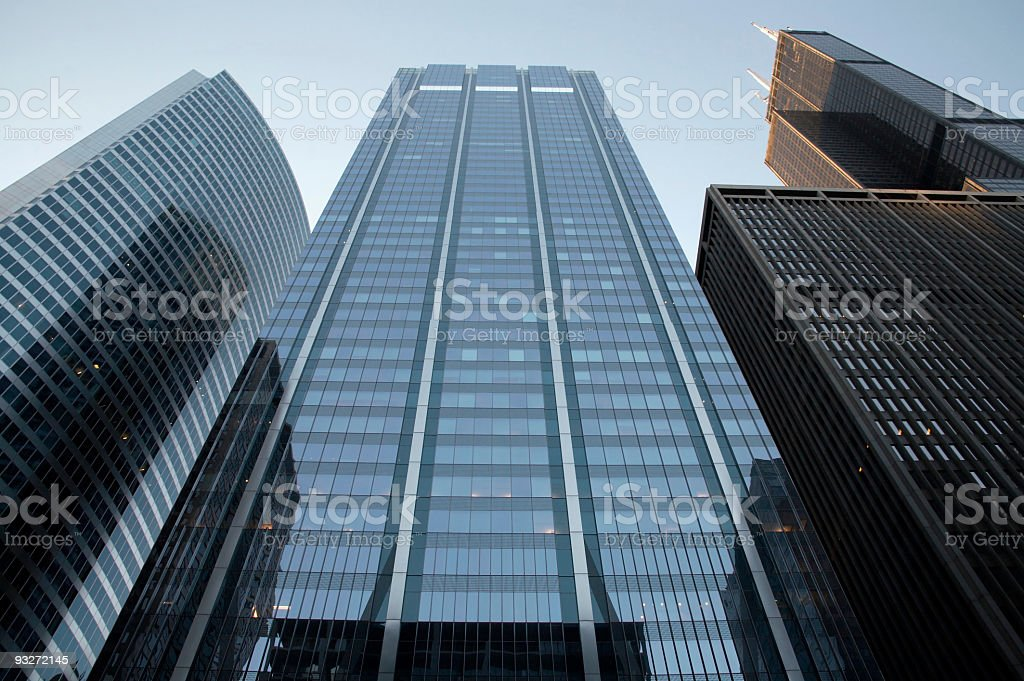 City Buildings royalty-free stock photo