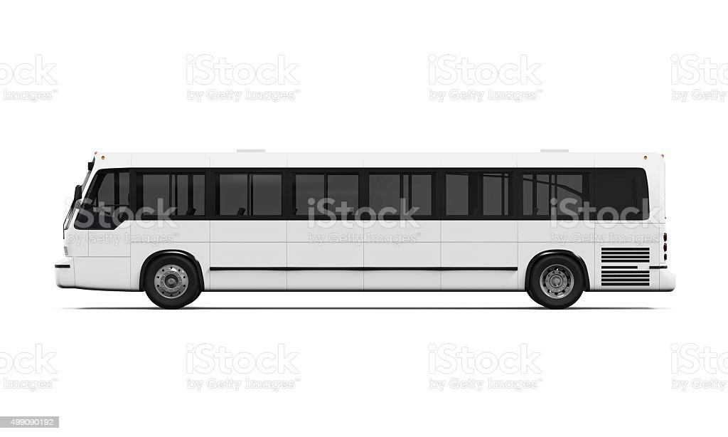 City Bus Isolated stock photo