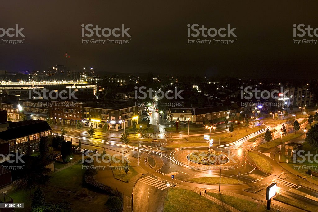 City by Night stock photo