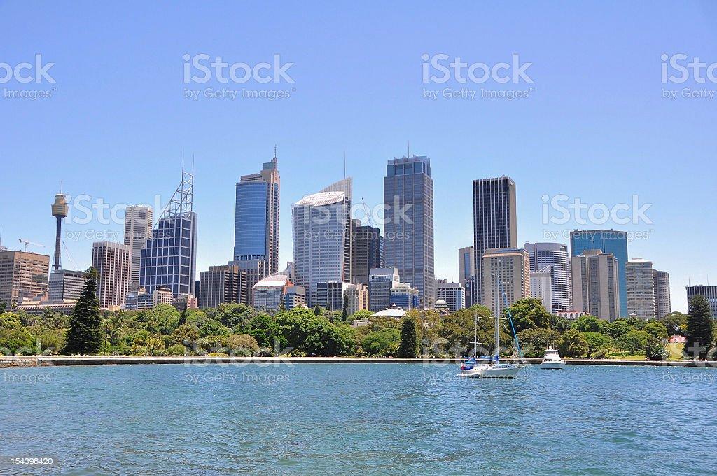 City Central of Sydney, Australia royalty-free stock photo