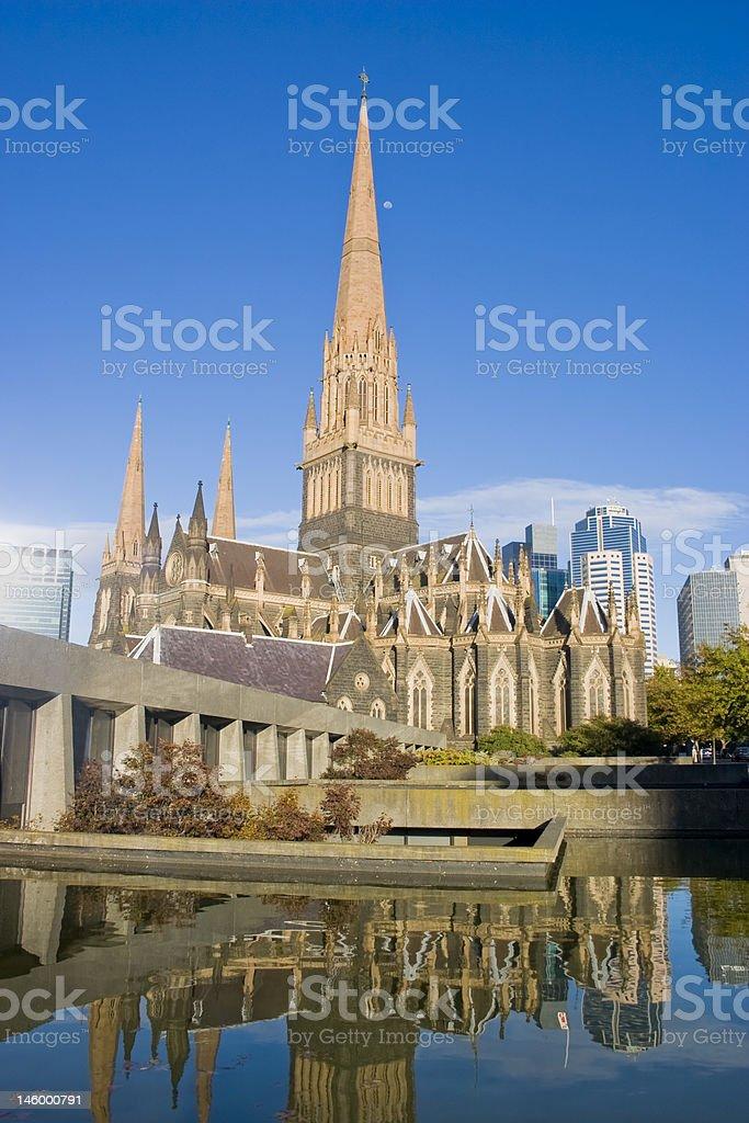 City Church stock photo