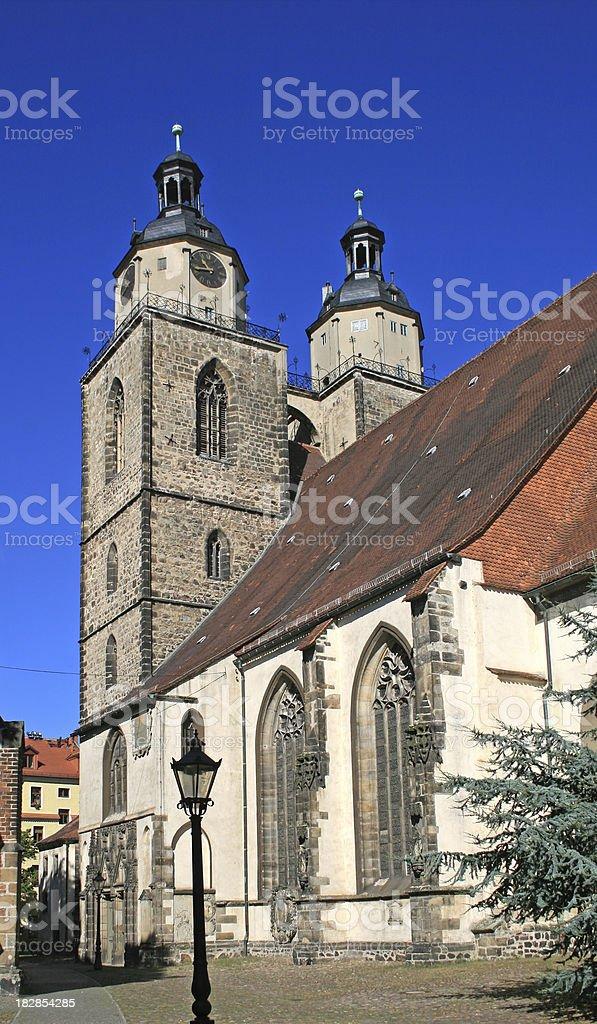 City Church Wittenberg stock photo