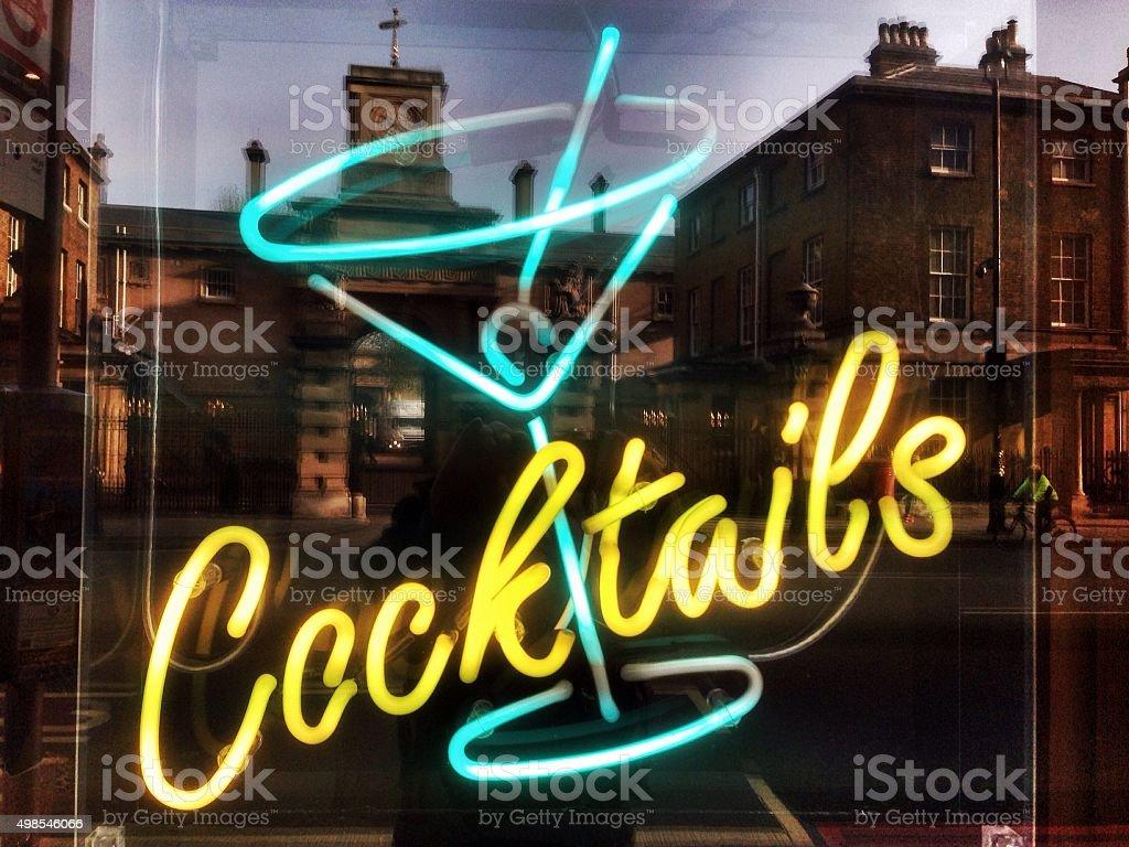 City Cocktails stock photo
