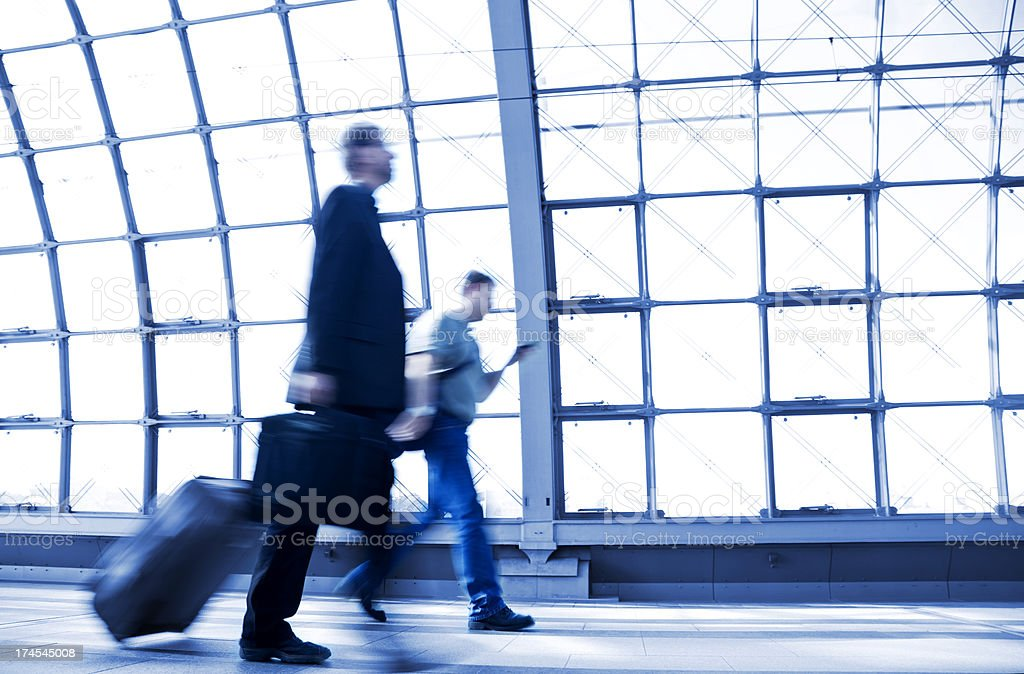 City Commuters royalty-free stock photo
