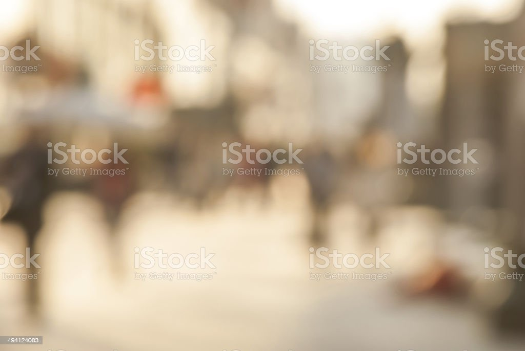 City commuters. stock photo