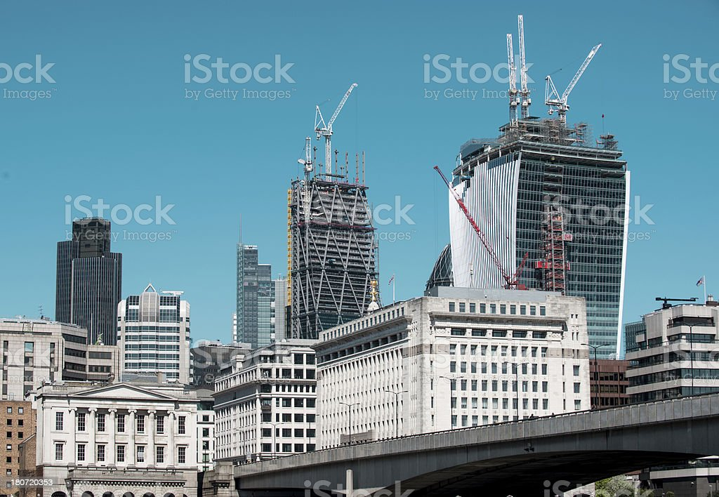 City construction royalty-free stock photo