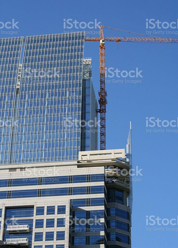 City Construction royalty-free stock photo