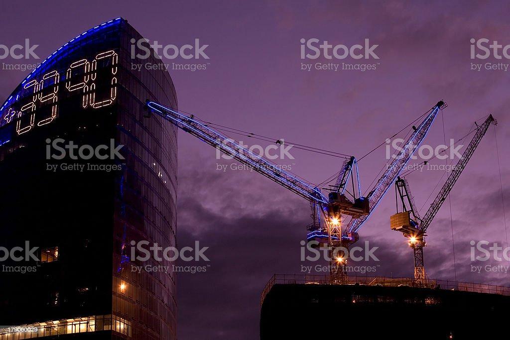 City constructions royalty-free stock photo