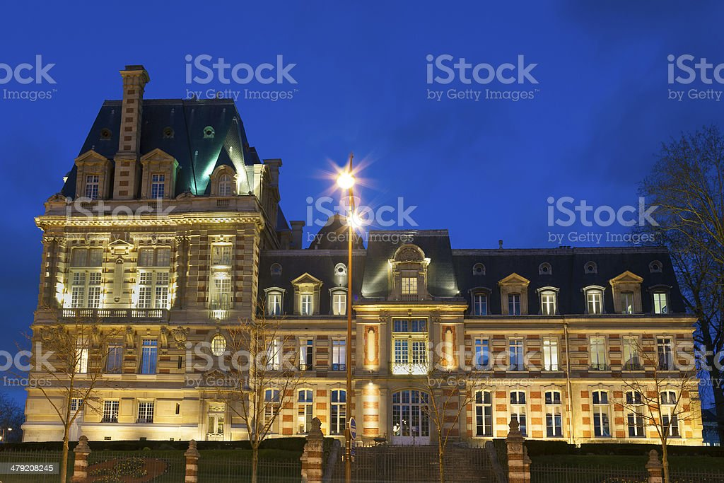City Council of Versailles stock photo