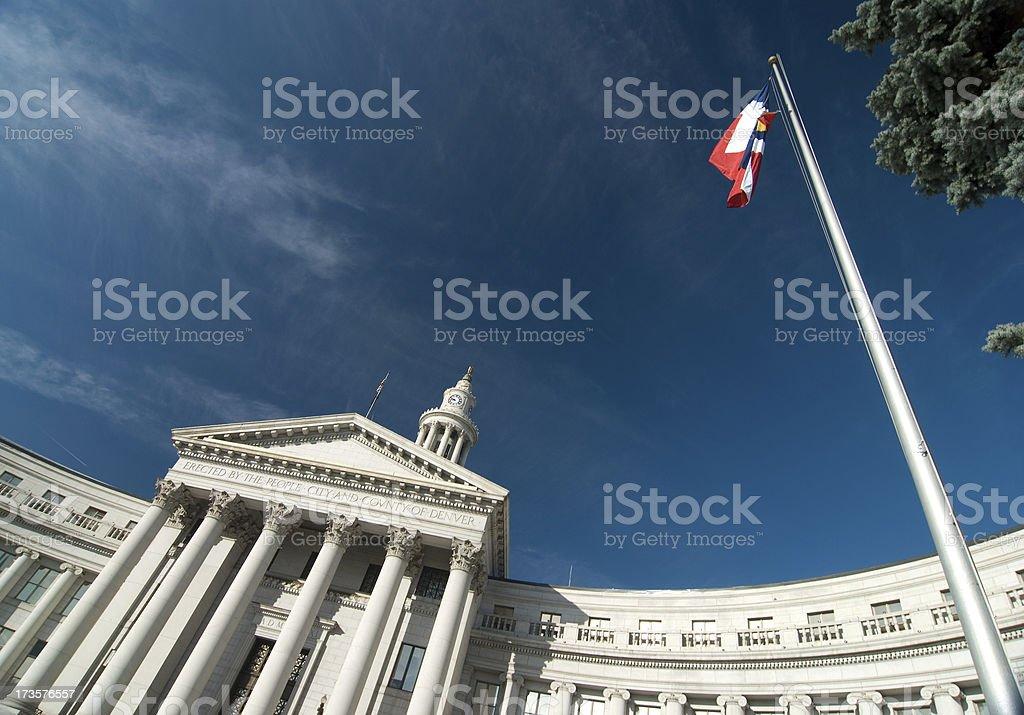 'City & County Building, Denver' stock photo