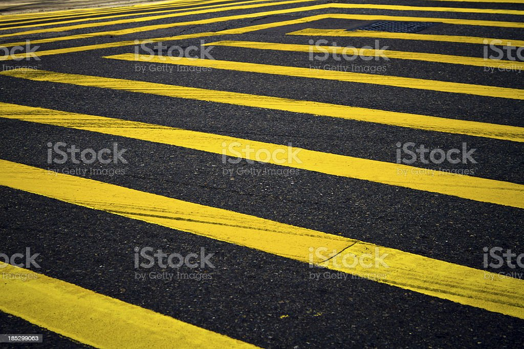 City Crosswalk stock photo
