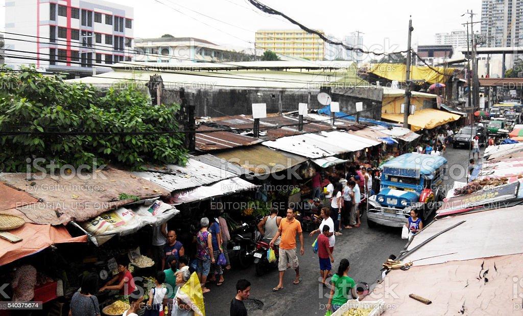 City day life, Manila stock photo