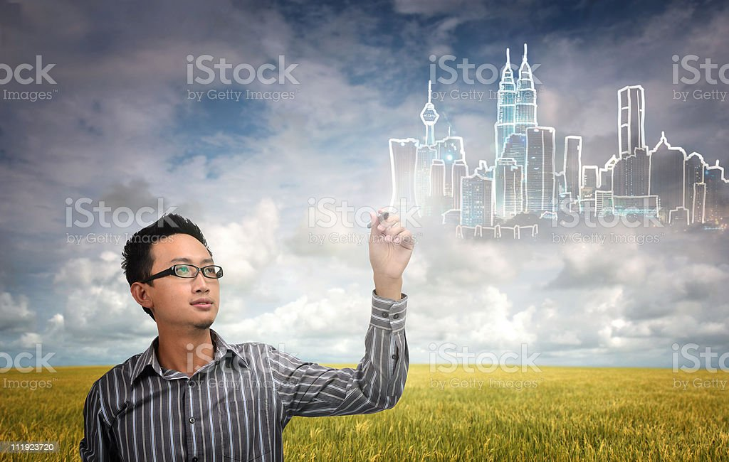 city development royalty-free stock photo