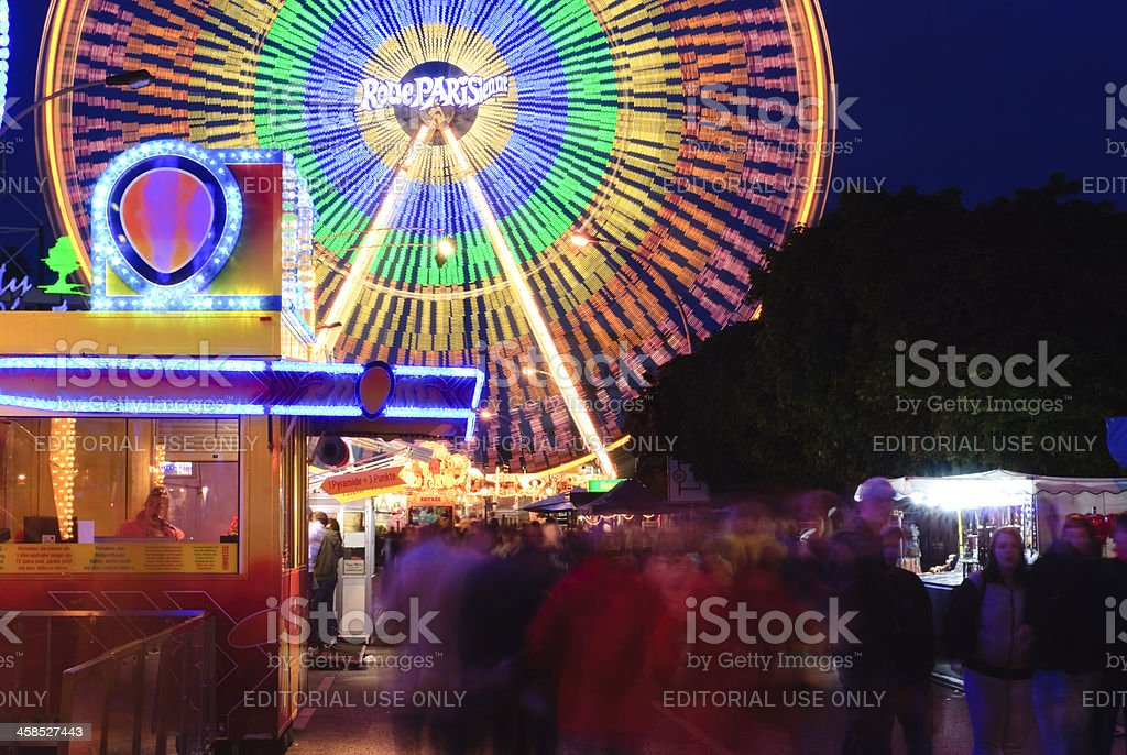 City festival - ferris wheel royalty-free stock photo