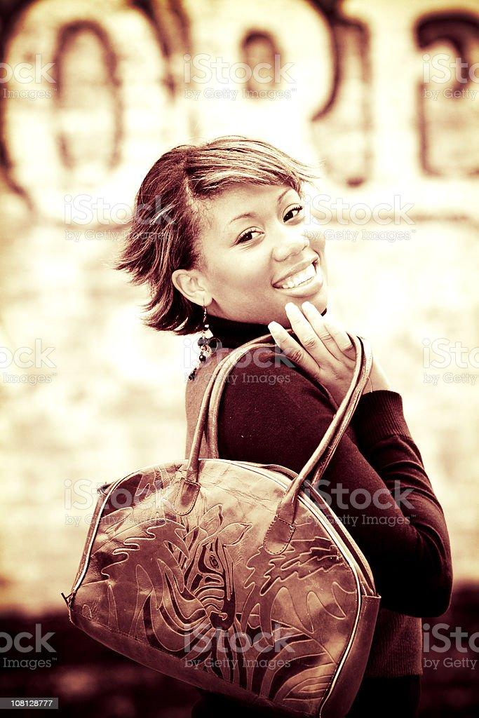 city girl portraits royalty-free stock photo