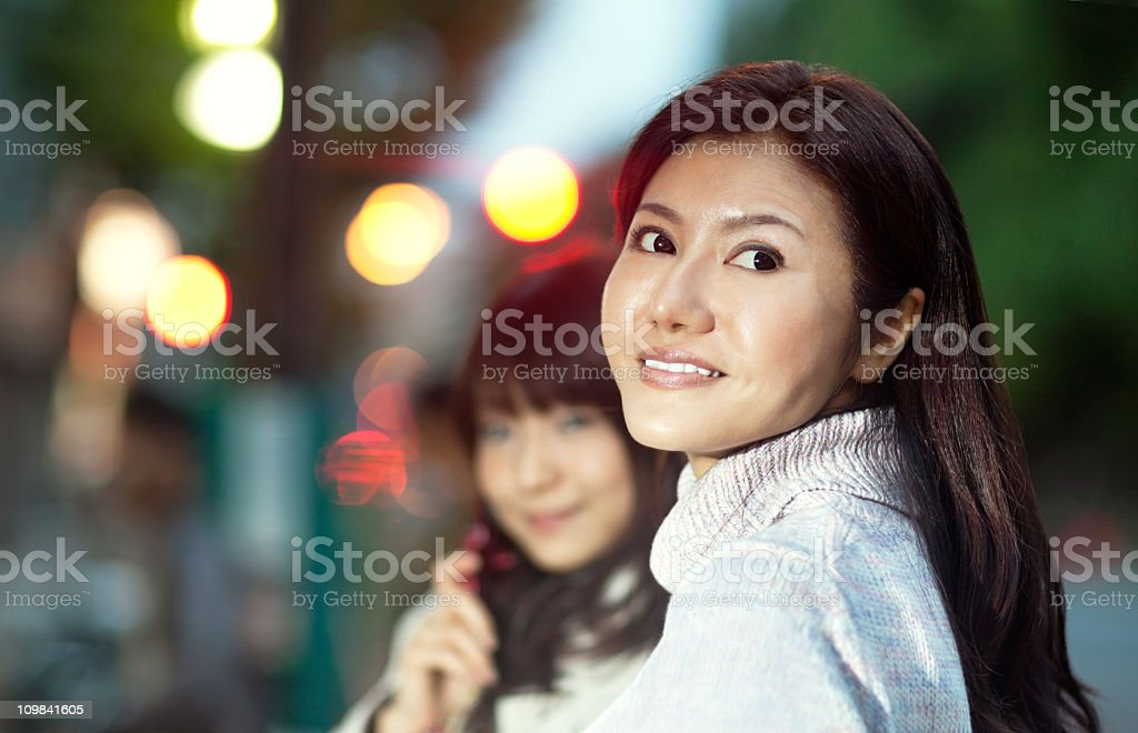 City Girls royalty-free stock photo