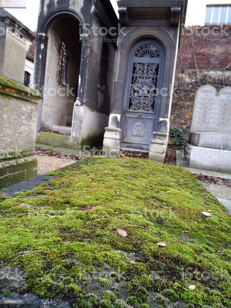 City graveyard montmartre paris france stock photo