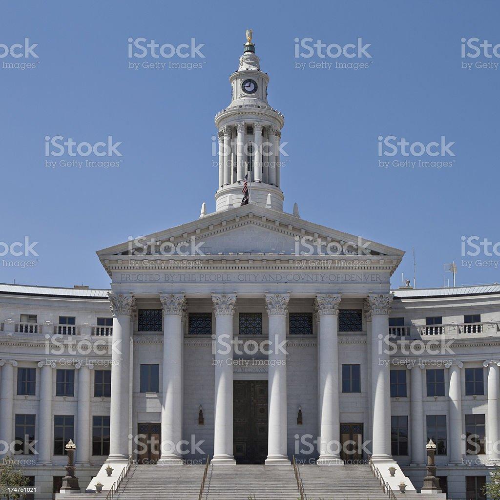 'City Hall and County Building of Denver,Colorado' stock photo