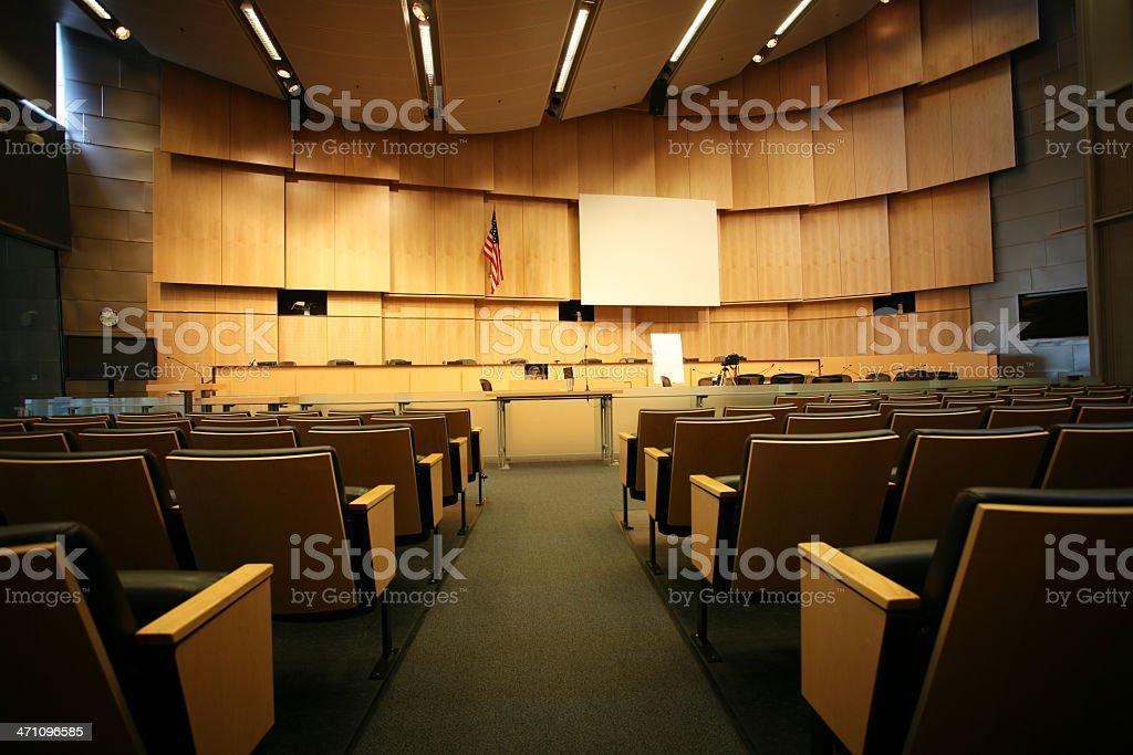 City hall chamber royalty-free stock photo