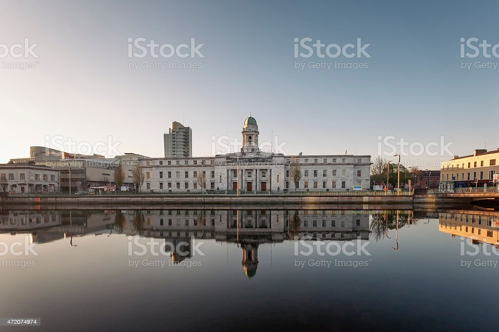 City Hall, Cork, Ireland stock photo
