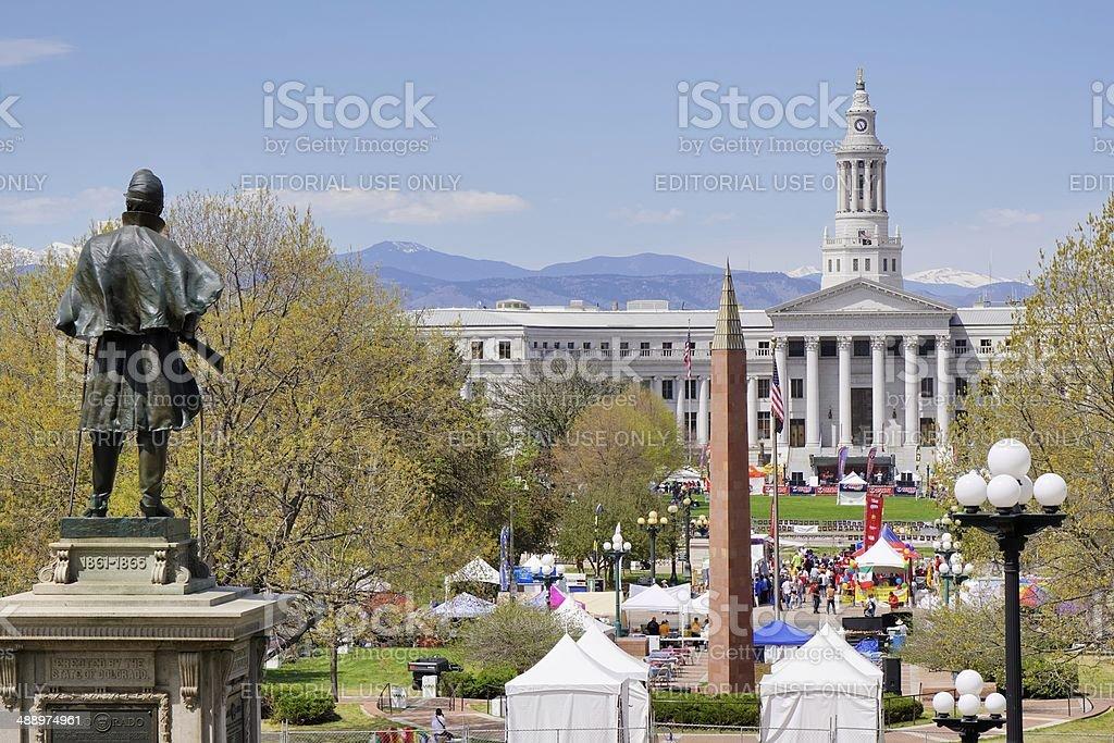 City Hall, Denver stock photo