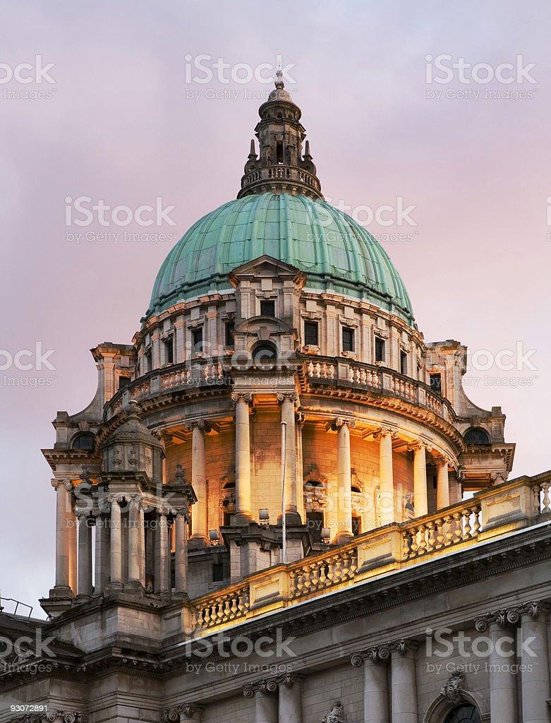 City Hall Dome stock photo