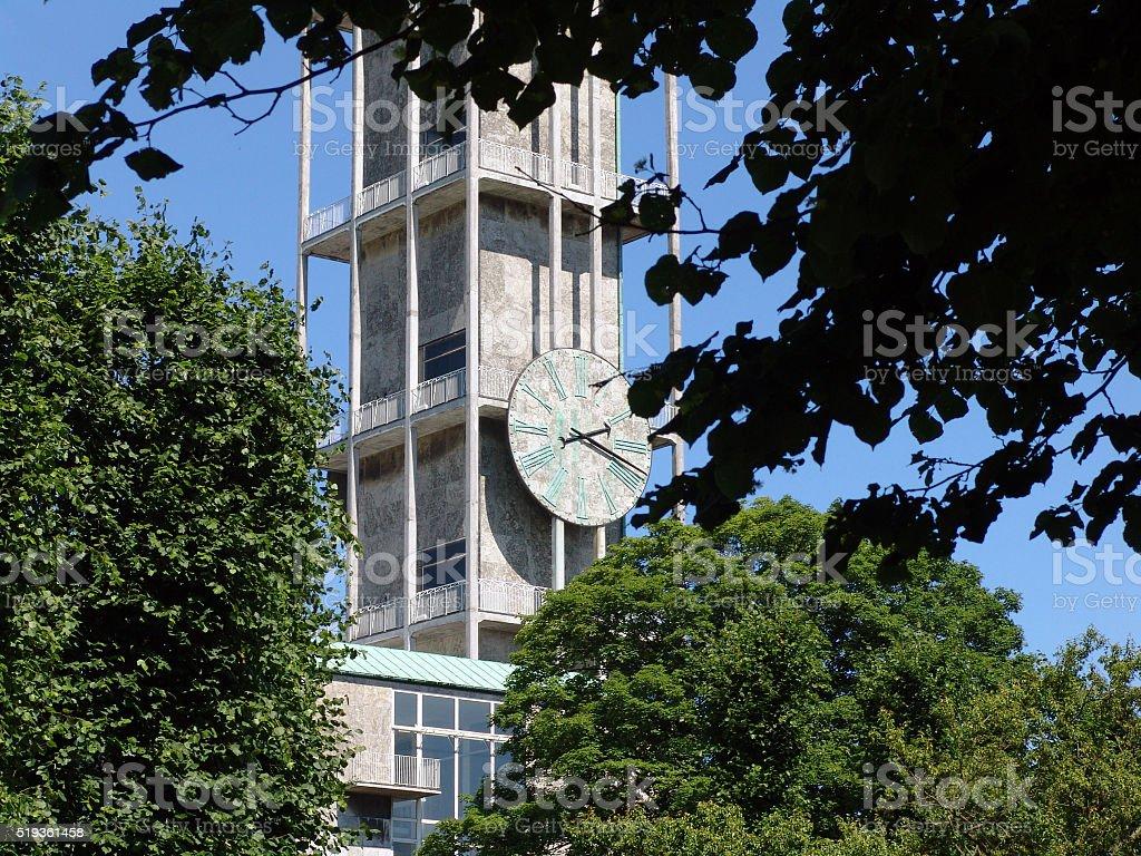 City Hall in Aarhus stock photo