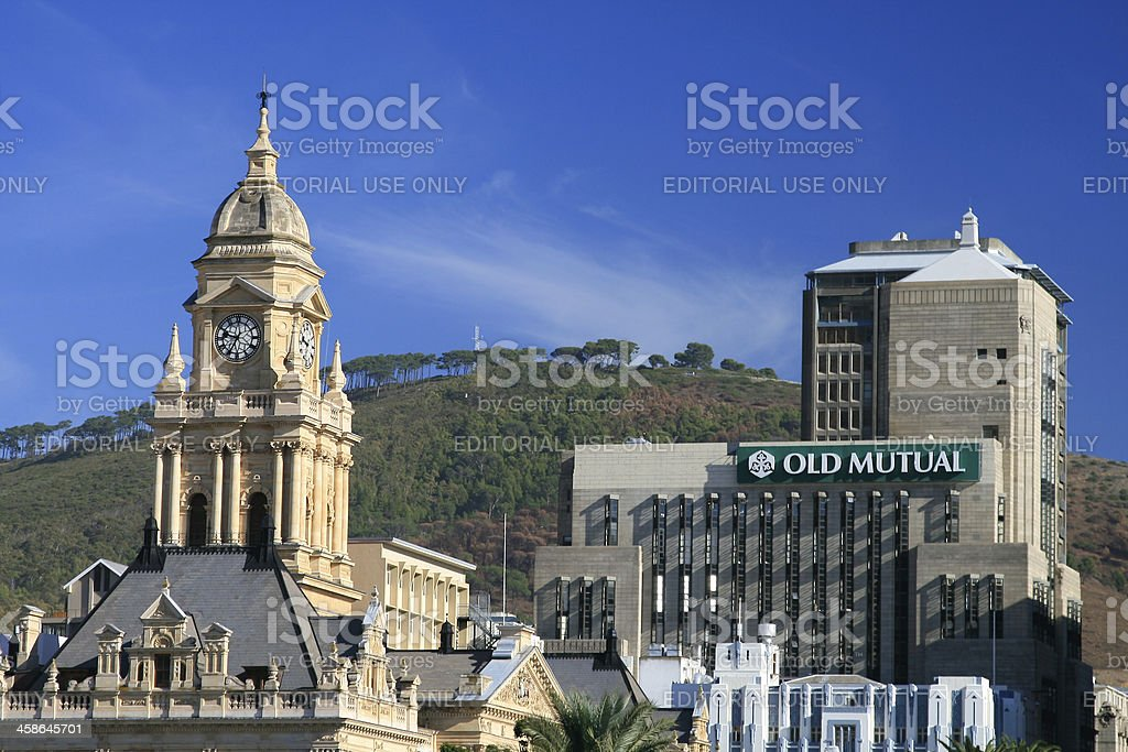 City Hall in Cape Town, South Africa royalty-free stock photo