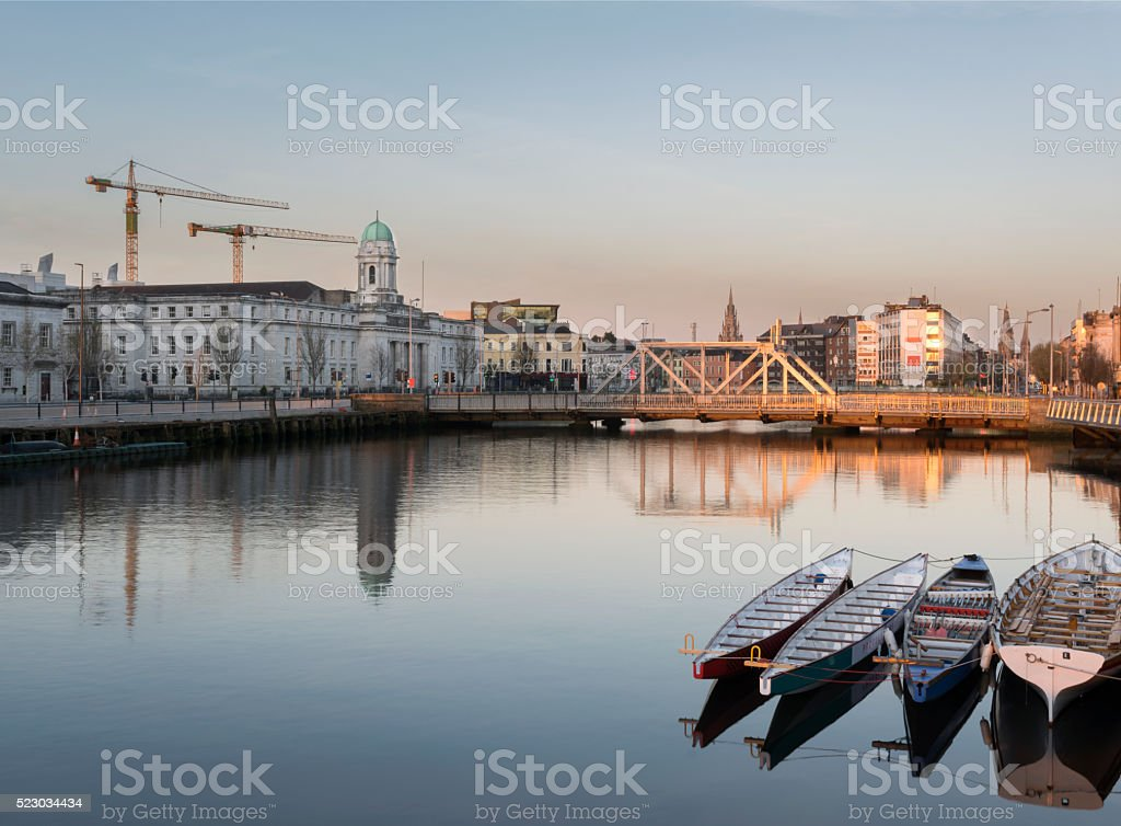 City Hall in Cork City, Ireland. stock photo