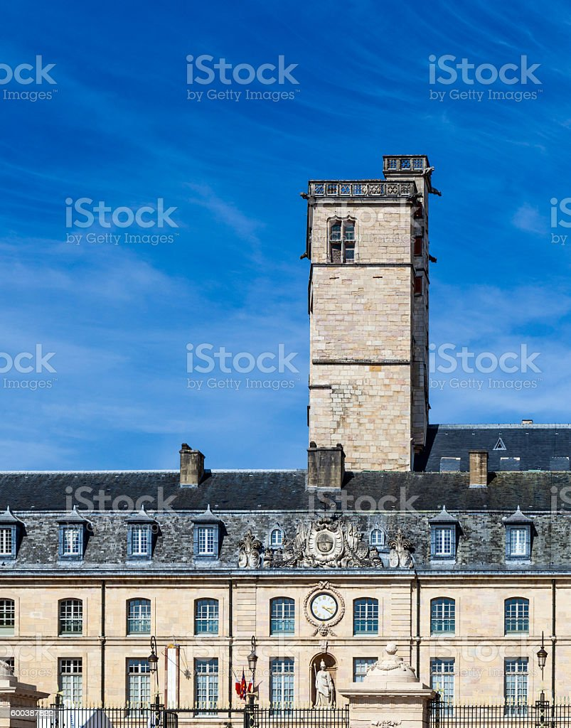 city hall in Dijon, France stock photo