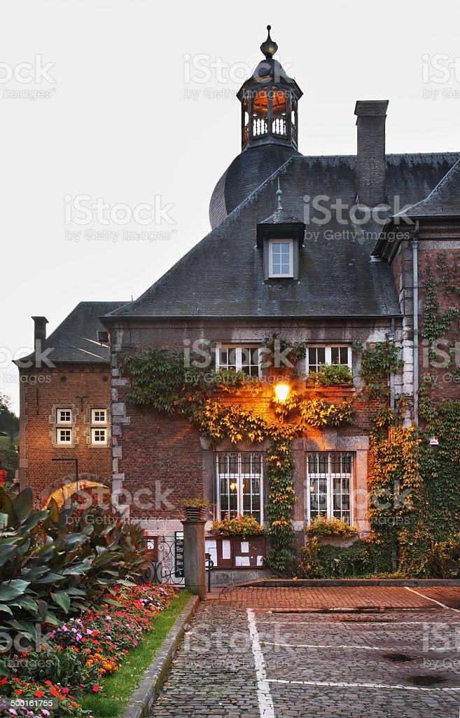 City Hall in Dinant. Belgique stock photo