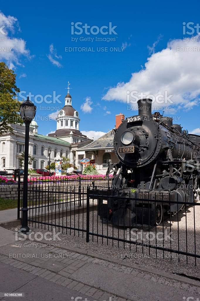 City Hall in Kingston, Ontario, Canada stock photo