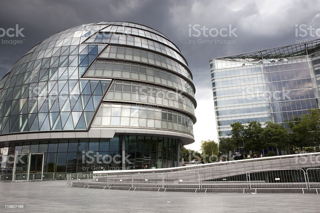 City hall in London stock photo