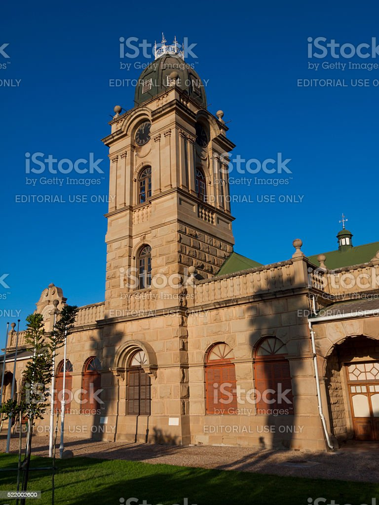 City Hall in Oudtshoorn, South Africa stock photo