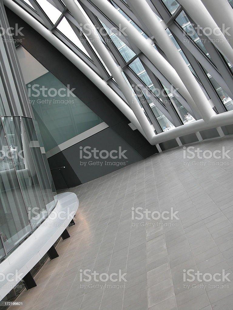 City Hall Interior royalty-free stock photo