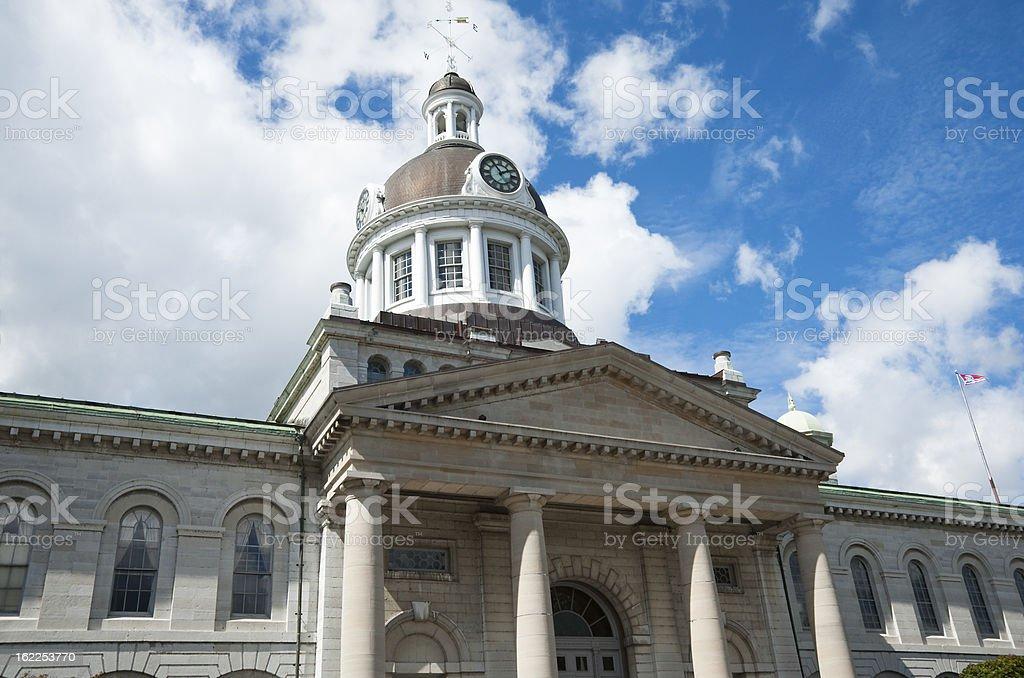 City Hall Kingston royalty-free stock photo