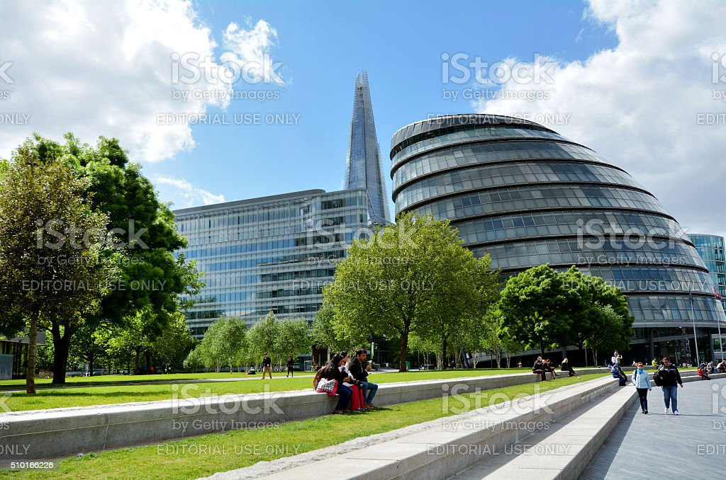 City Hall, London England UK stock photo