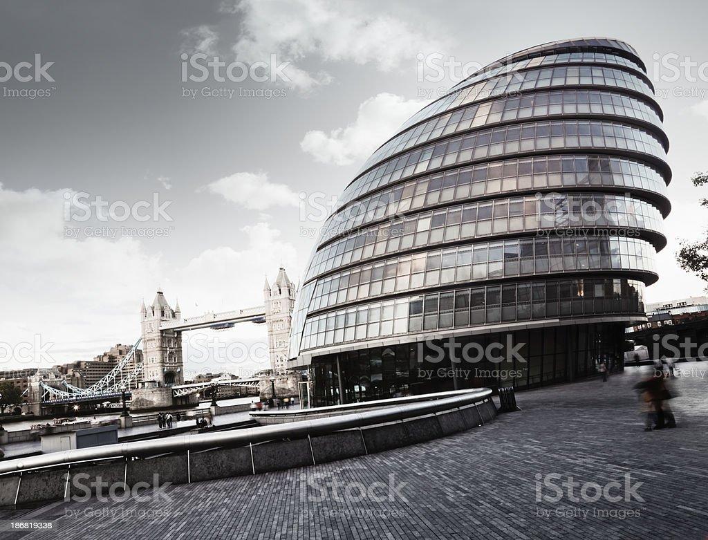 City Hall, London royalty-free stock photo