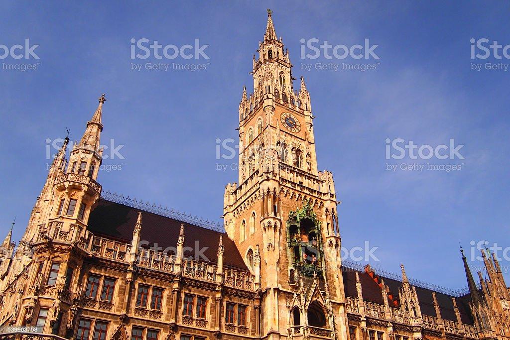 City Hall, Marienplatz,munich stock photo