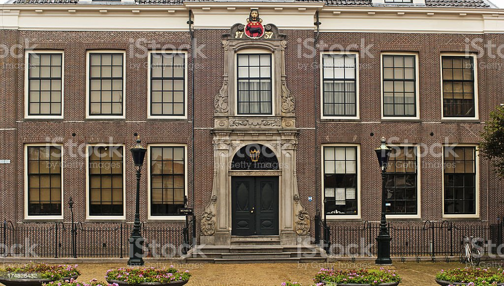 City Hall of Edam in the Netherlands. stock photo
